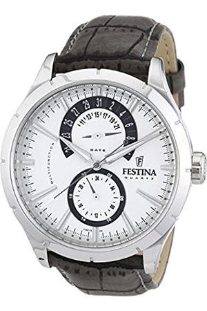 Festina Festina Herren Chronograph Quarz Uhr mit Edelstahl Armband F16573/2