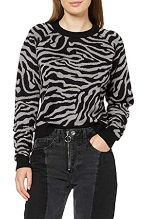 Urban classics Urban Classics Damen Ladies Short Tiger Sweater Pullover