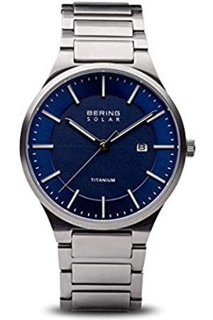Bering BERING Herren Analog Quarz Uhr mit Titan Armband 15239-777