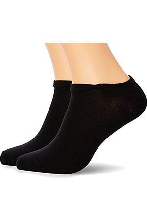 Nur Der Herren Füßlinge Cotton Sneaker, 2er Pack