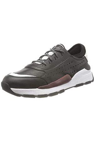 Geox Geox Herren U Regale A Sneaker, Schwarz (Black C9999)