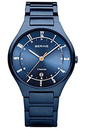 Bering BERING Herren Analog Quarz Uhr mit Titan Armband 11739-797