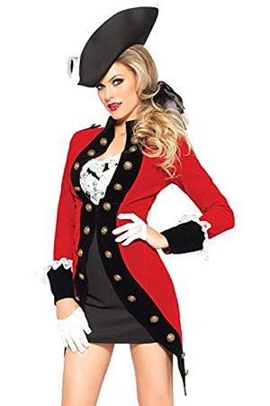 Leg Avenue Damen Anzüge - 85386 - Rebel Red Coat Damen kostüm, Größe Large (EUR 40)