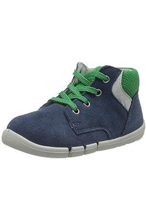 Superfit Superfit Baby Jungen Flexy Sneaker, Blau (Blau/Grün 80)