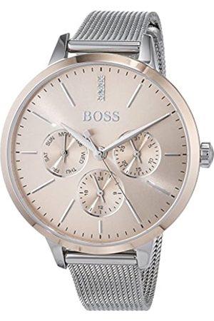 HUGO BOSS Hugo Boss Unisex Multi Zifferblatt Quarz Uhr mit Edelstahl Armband 1502423