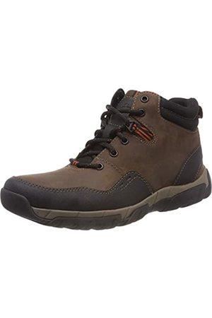 Clarks Clarks Herren Walbeck Top II Schneestiefel, Braun (Brown Leather)