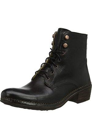 Neosens Damen Dakota Medoc Kurzschaft Stiefel, (Black S3076)