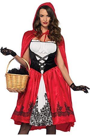 Leg Avenue LEG AVENUE 85614 - Kostüm Set Klassische Rotkäppchen, Damen Fasching, L