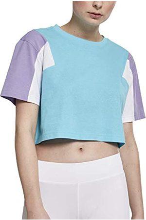 Urban classics Urban Classics Damen T-Shirt Ladies 3-Tone Short Oversize Tee 3XL