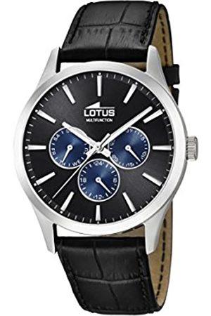 Lotus Lotus Herren Analog Quarz Uhr mit Leder Armband 18576/6