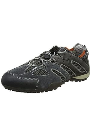 Geox Geox Herren Uomo Snake J Sneaker, Grau (Dk Grey/Lt Grey)