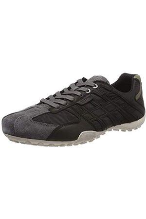 Geox Geox Herren Uomo Snake a Sneaker, Schwarz (Black/Dk Grey C0005)