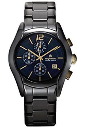 ARGONAU Argonau Unisex Erwachsene Analog Quarz Uhr mit Keramik Armband AU1102