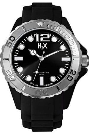 Haurex Haurex Herren Analog Quarz Uhr mit Gummi Armband SN382UN3