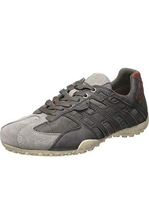 Geox Geox Herren Uomo Snake a Sneaker, Grau (Grey/Stone C1071)