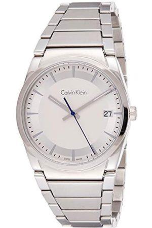 Calvin Klein Calvin Klein Herren Analog Quarz Uhr mit Edelstahl Armband K6K31146