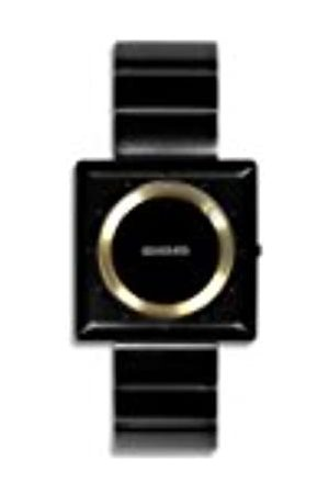 666Barcelona 666Barcelona Unisex Erwachsene Analog Quarz Uhr mit Edelstahl Armband 666-061