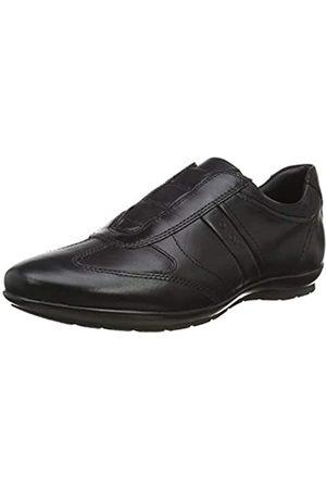 Geox Geox Herren SYMBOL Sneakers, Schwarz (Blackc9999)