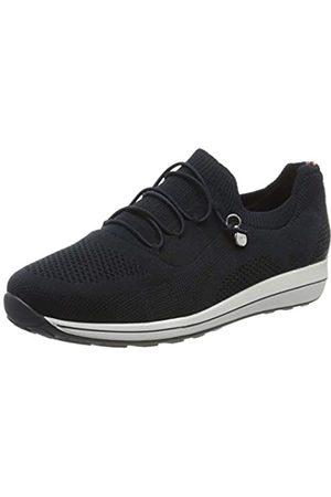 ARA Ara Damen OSAKA Sneaker, Blau 02)
