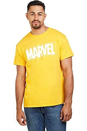 Marvel Marvel Herren Text Logo T-Shirt