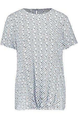 Gerry Weber Gerry Weber Damen 1/2 Arm Bluse Mit Minimaldessin Figurumspielend 36