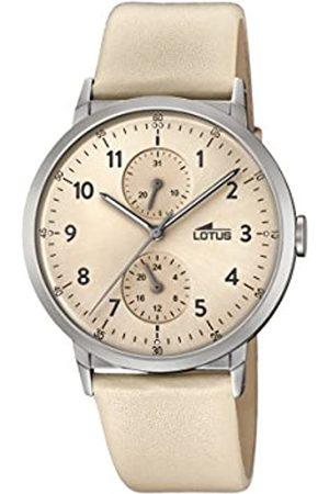 Lotus Lotus Watches Unisex Multi Zifferblatt Quarz Uhr mit Leder Armband 18509/2