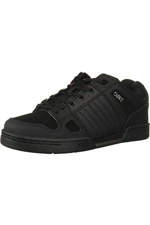 DVS DVS Unisex-Erwachsene Celsius Skateboardschuhe, Schwarz (Black Black Leather 019)