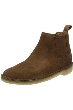 Clarks Clarks Originals Herren Desert Chelsea Boots, Braun (Cola Suede Cola Suede)