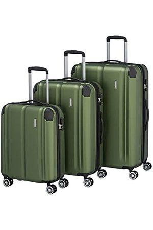 """Elite Models' Fashion Travelite Leicht, flexibel, sicher: """"City""""-Hartschalenkoffer für Urlaub und Business (auch mit Vortasche) Koffer-Set, 77 cm"""