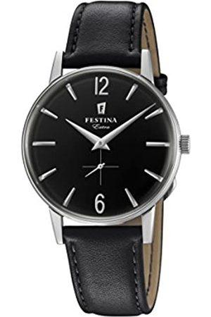 Festina Festina Herren Analog Quarz Uhr mit Leder Armband F20248/4