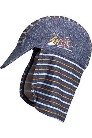 Playshoes Jungen Mütze Bademütze AHOI mit UV-Schutz