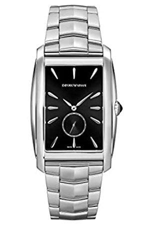 Emporio Armani Emporio Armani Herren Analog Quarz Uhr mit Edelstahl Armband ARS8350