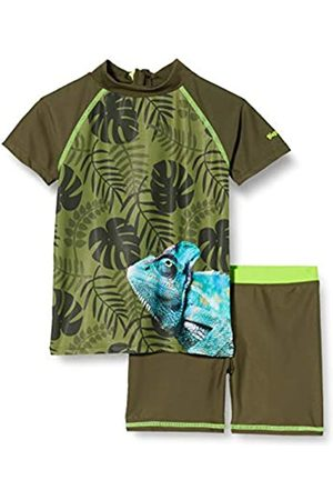 Playshoes Playshoes Jungen Chamäleon Schwimmshirt-Set