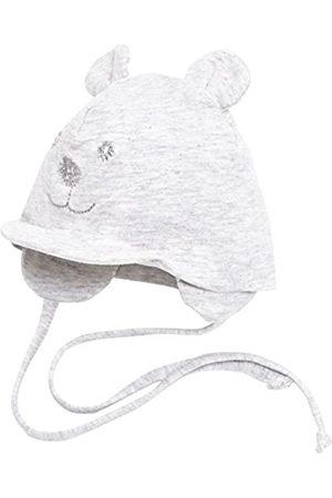 Sterntaler Sterntaler Unisex Schirmmütze mit Bindebändern, Nackenschutz und niedlichem Bärchen-Motiv, Alter: 0-1 Monat, Größe: 33