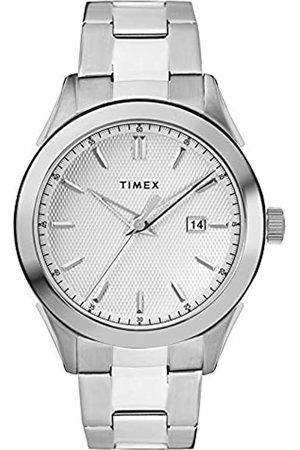 Timex Timex Herren Analog Quarz Uhr mit Edelstahl Armband TW2R90500
