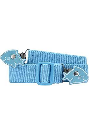 Playshoes Playshoes 601220 Unisex - Elastischer Kinder Gürtel mit Clips in Haiform