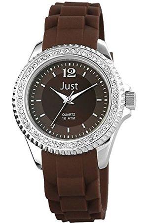 Just Watches Just Watches Herren Analog Quarz Uhr mit Kautschuk Armband 48-S3858-BR