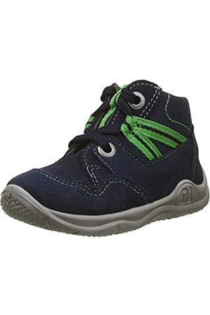 Superfit Superfit Baby Jungen Universe Sneaker, Blau (Blau/Grün 80)