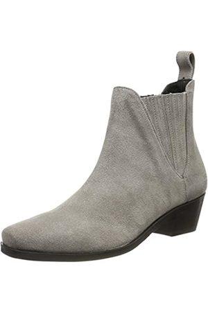 Melvin & Hamilton Damen Kylie 1 Chelsea Boots, (Grey Suede Pattini-Marmotta-Elastic-Black-Lining Nappa-Black-Insole Leather-Hrsrblackc)