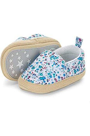 Sterntaler Sterntaler Baby Mädchen Espadrilles, Blau (Samtblau 399)