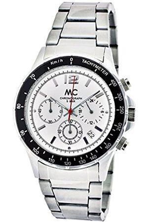 MC MC Timetrend Herren-Armbanduhr Chronograph Quarz Metallband 27647