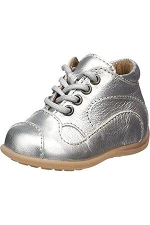 Bisgaard Bisgaard Baby Mädchen Lauflernschuhe Sneaker, Silber (01 Silver)