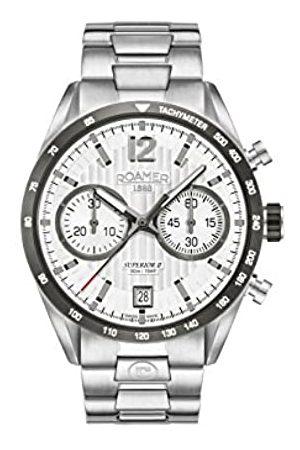 Roamer Roamer Herren Chronograph Quarz Uhr mit Edelstahl Armband 510902 41 14 50