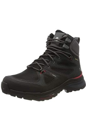 Jack Wolfskin Damen Force Striker Texapore MID W Trekking- & Wanderstiefel, (Black/Red 6047)