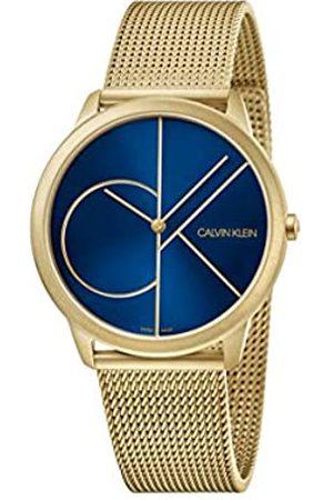 Calvin Klein Calvin Klein Herren Analog Quarz Uhr mit Edelstahl Armband K3M5155N