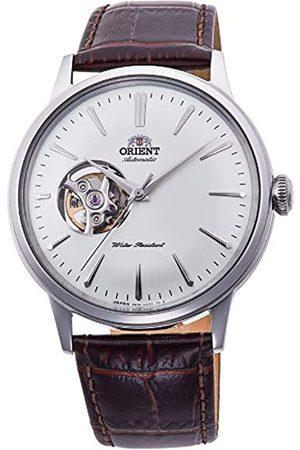 Orient Orient Unisex Erwachsene Analog Automatik Uhr mit Leder Armband RA-AG0002S10B