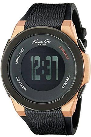 Kenneth Cole Kenneth Cole Herren Digital Quarz Uhr mit Leder