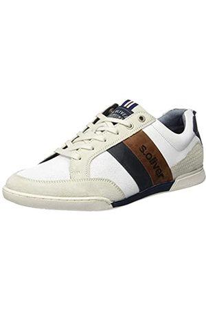 s.Oliver S.Oliver Herren 5-5-13619-24 Sneaker, Weiß (White 100)