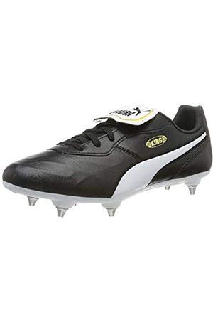 Puma Puma Unisex-Erwachsene King Top SG Fußballschuhe, Schwarz (Puma Black-Puma White)