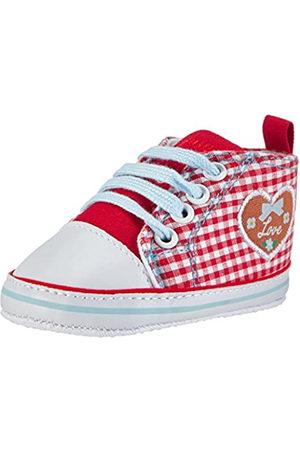 Playshoes Playshoes Baby Canvas-Turnschuhe, trendiger Stoff-Sneaker mit rutschhemmenden Noppen